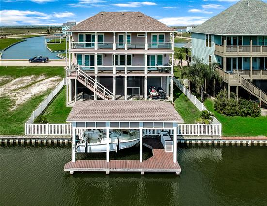 aerial photography for Freeport, TX real estate