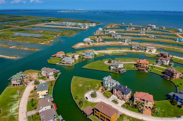 best aerial photography for Freeport, TX real estate